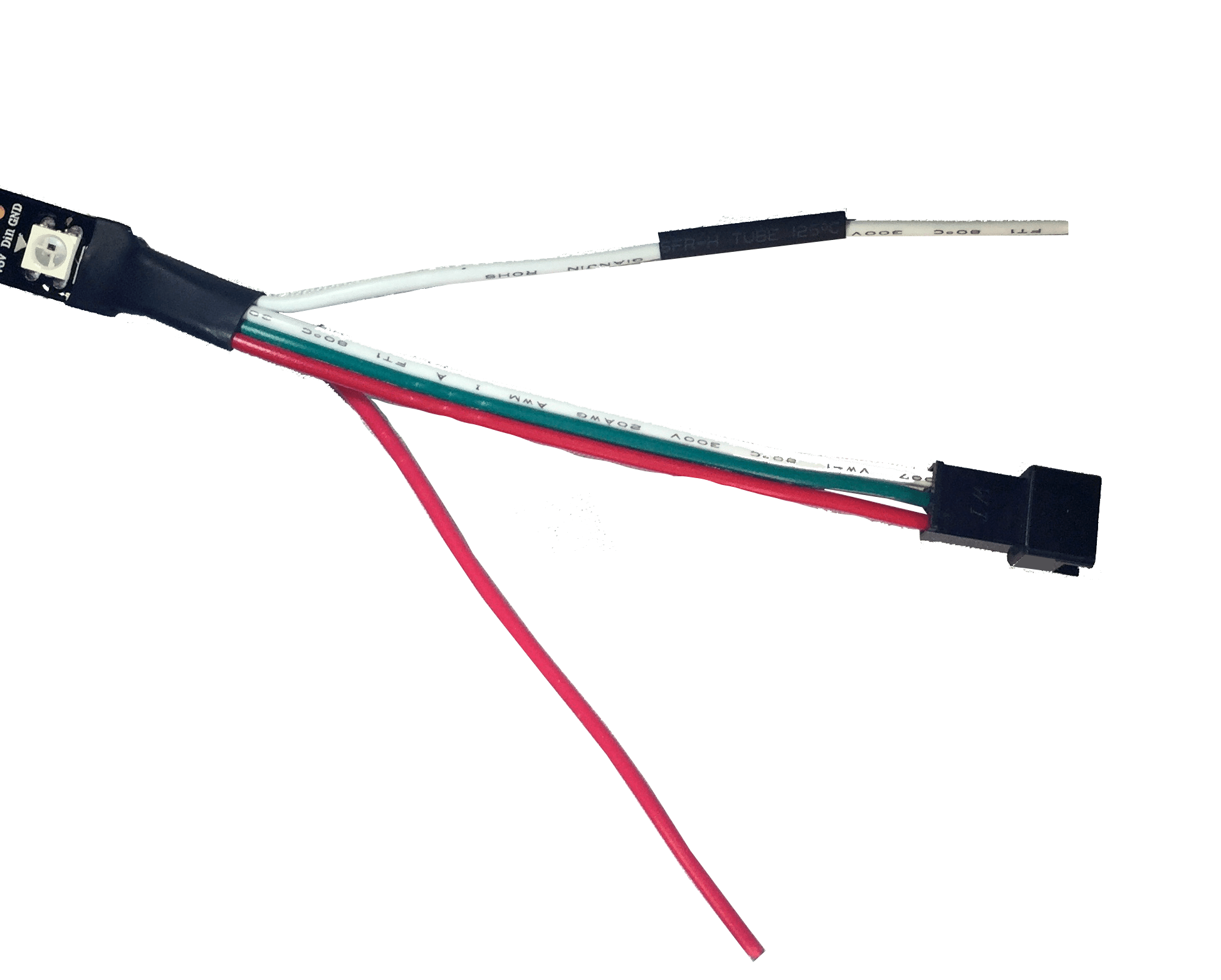 hight resolution of addressable led strip pin out
