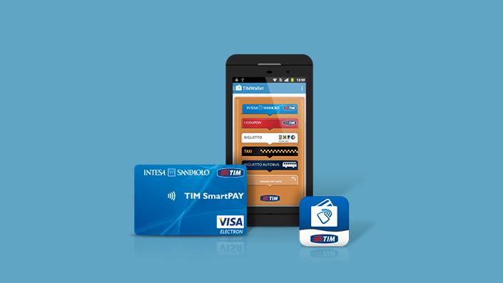 TIM LANCIA SMART PAY IN ARRIVO DEI NUOVI PAGAMENTI NFC - LA CARTA PREPAGATA CHE ABBINI AL NUMERO DI TELEFONO