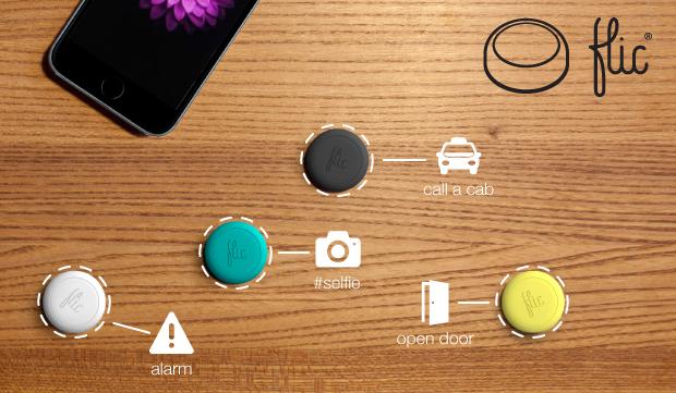 Flic pulsante wireless iphone 6