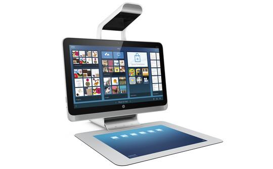 HP SPROUT PC SENZA MOUSE E TASTIERA CON SCANNER 3D VIDEOPROIETTORE E TAPPETINO MULTITOUCH