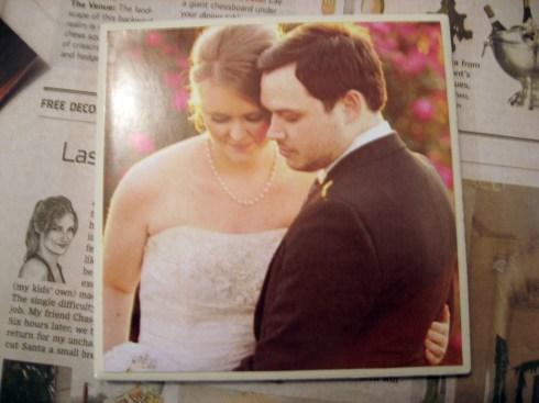 wedding photo gift