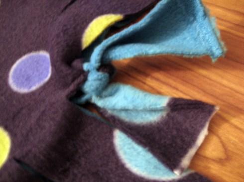 blanket knot