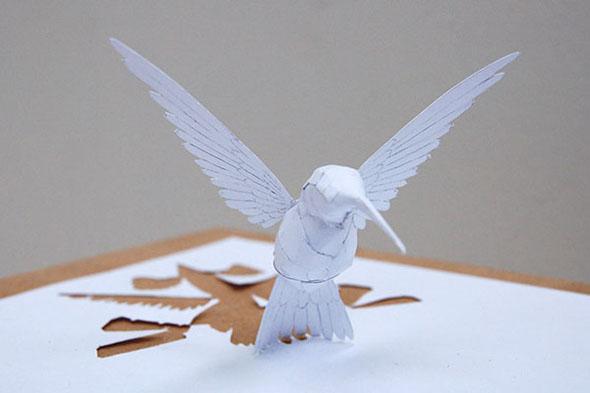 hummingbird by Peter Callesen