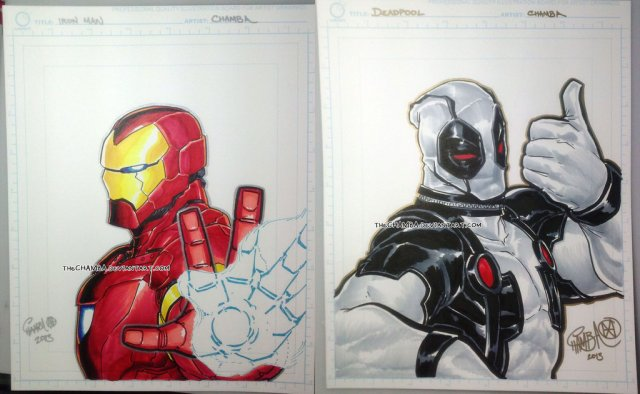 Ironman and Deadpool
