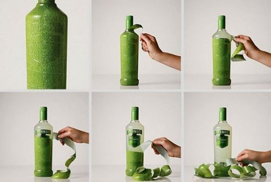 Creative Vodka Packaging
