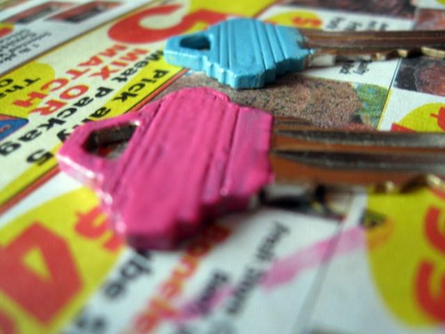 DIY Key colors