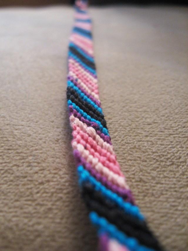 DIY Knotted Friendship Bracelet