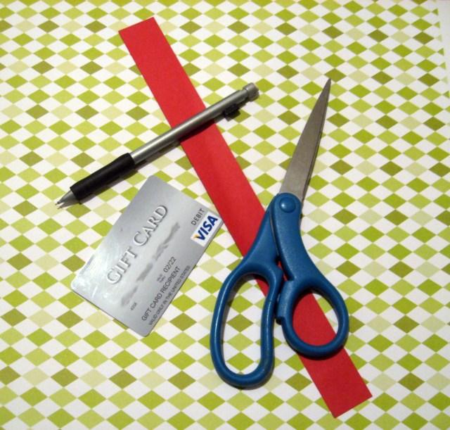 gift card holder materials