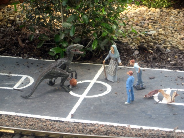 ruined basketball game