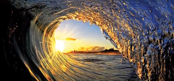 Wave photography by Clark Little