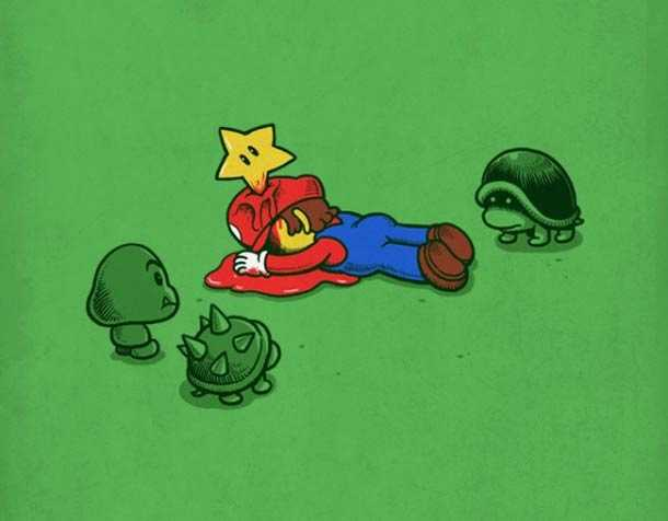mario-video-game-drawing