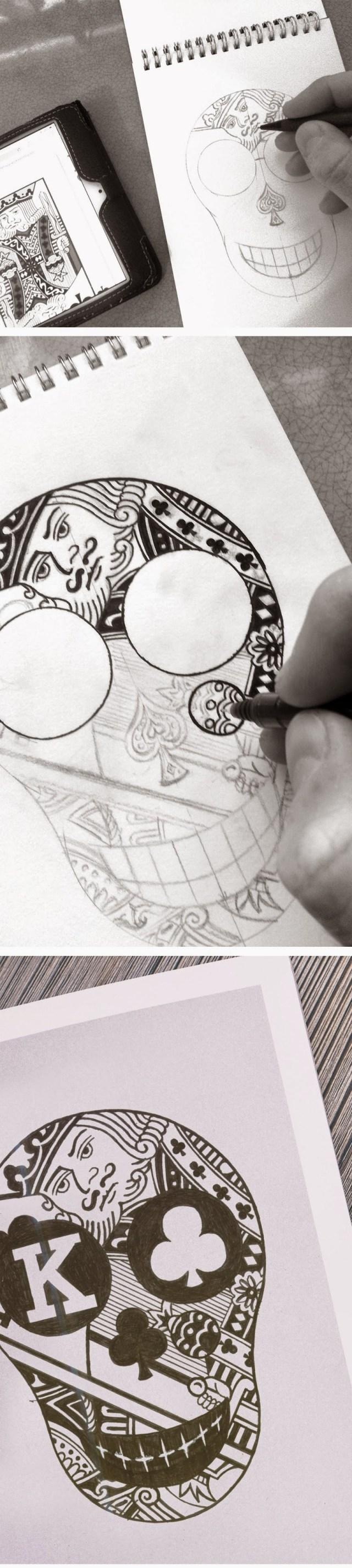 InkTober drawing by Matthew Price