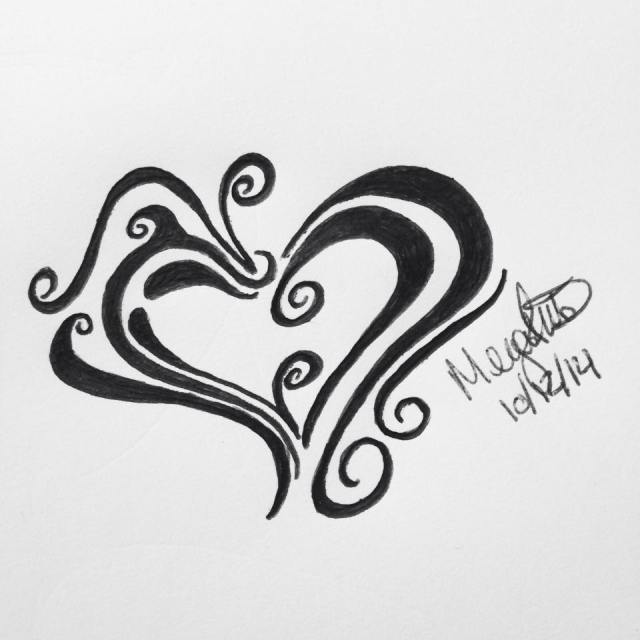 Heart #inktober Sketch