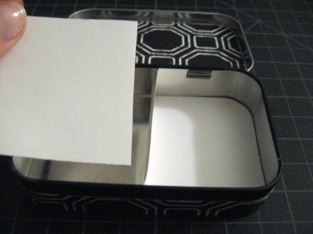tin box layout design