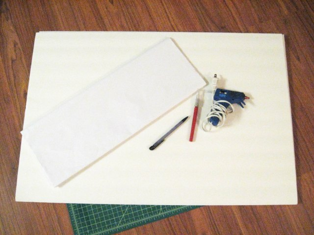 DIY light box materials