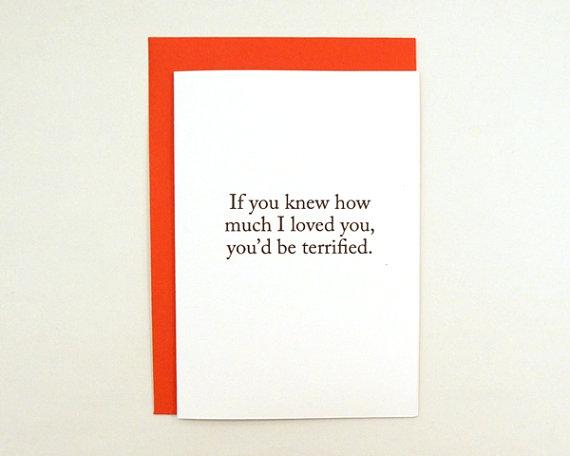 funny in-love Valentine's Day card