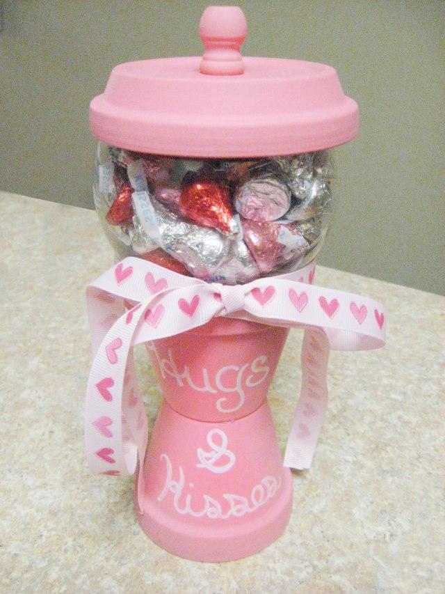 DIY Candy Jar for Valentine's Day