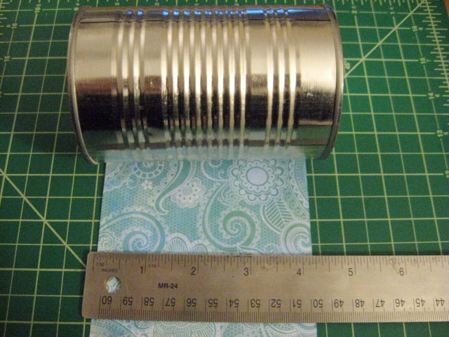Measure the tin can