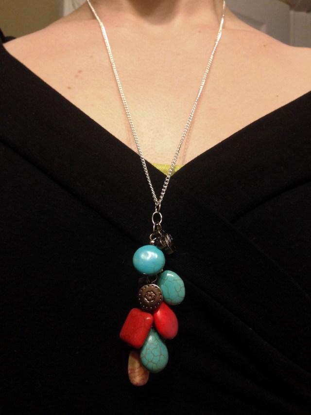 hanging fashion necklace