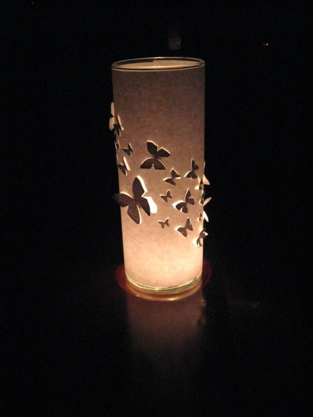 diy dollar store candle wrap