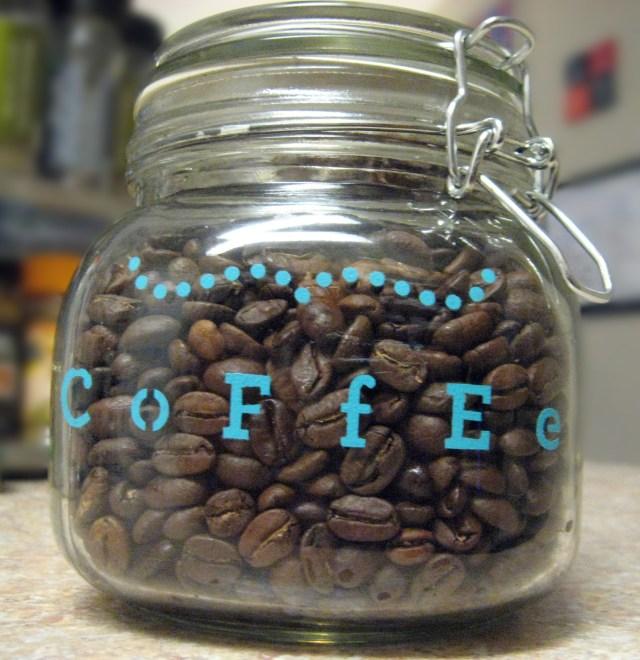 DIY-customized-coffee-jar