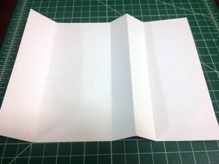 final folds for gift card holder