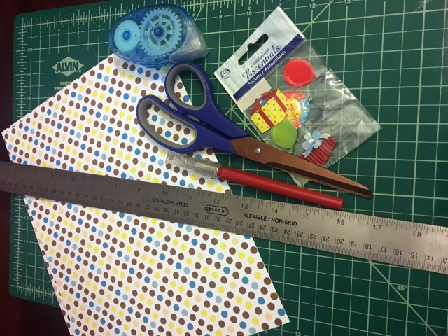 supplies for diy paper gift card holder