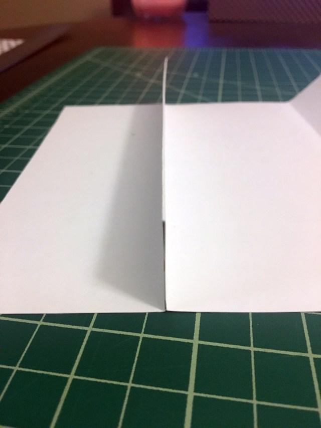 paper folds for gift card holder