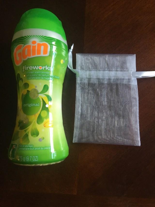 gym bag air freshener supplies