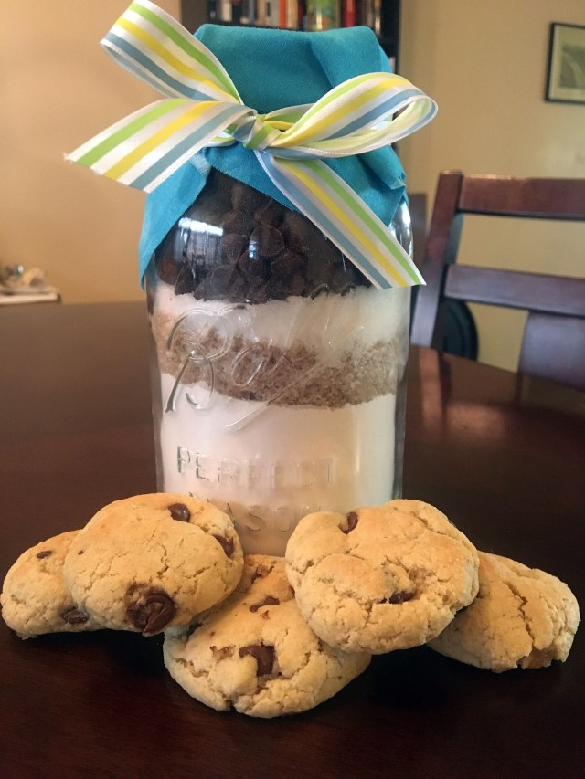 diy cookie mason jar gift