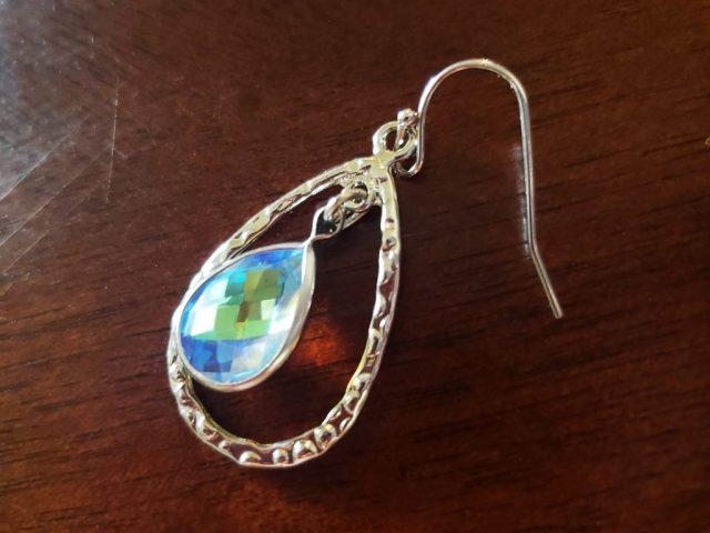 homemade gemstone earrings