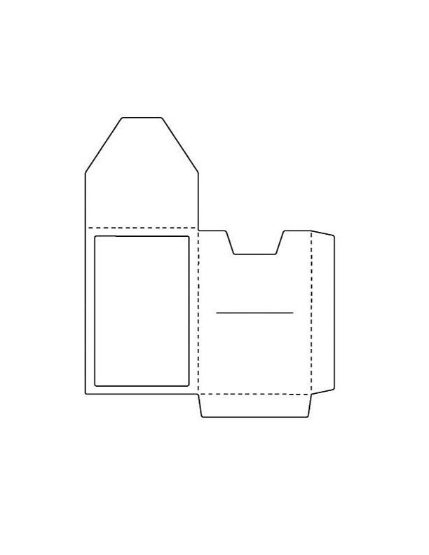 gift card holder printable template