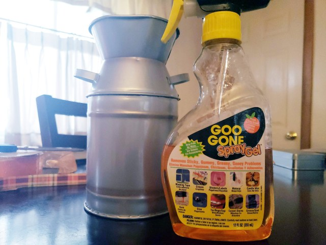 goo gone label remover