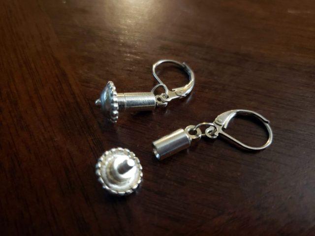 interchangeable drop earrings