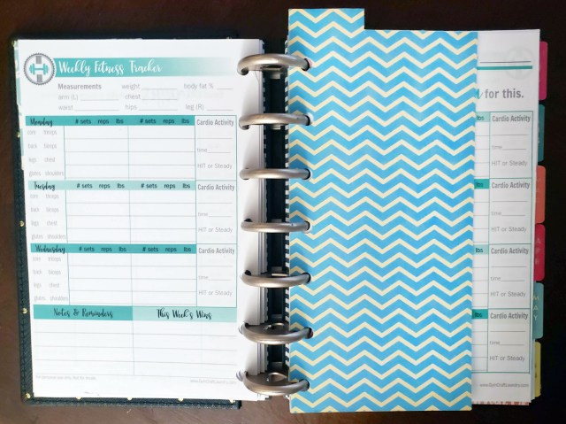 diy planner divider from a tissue box