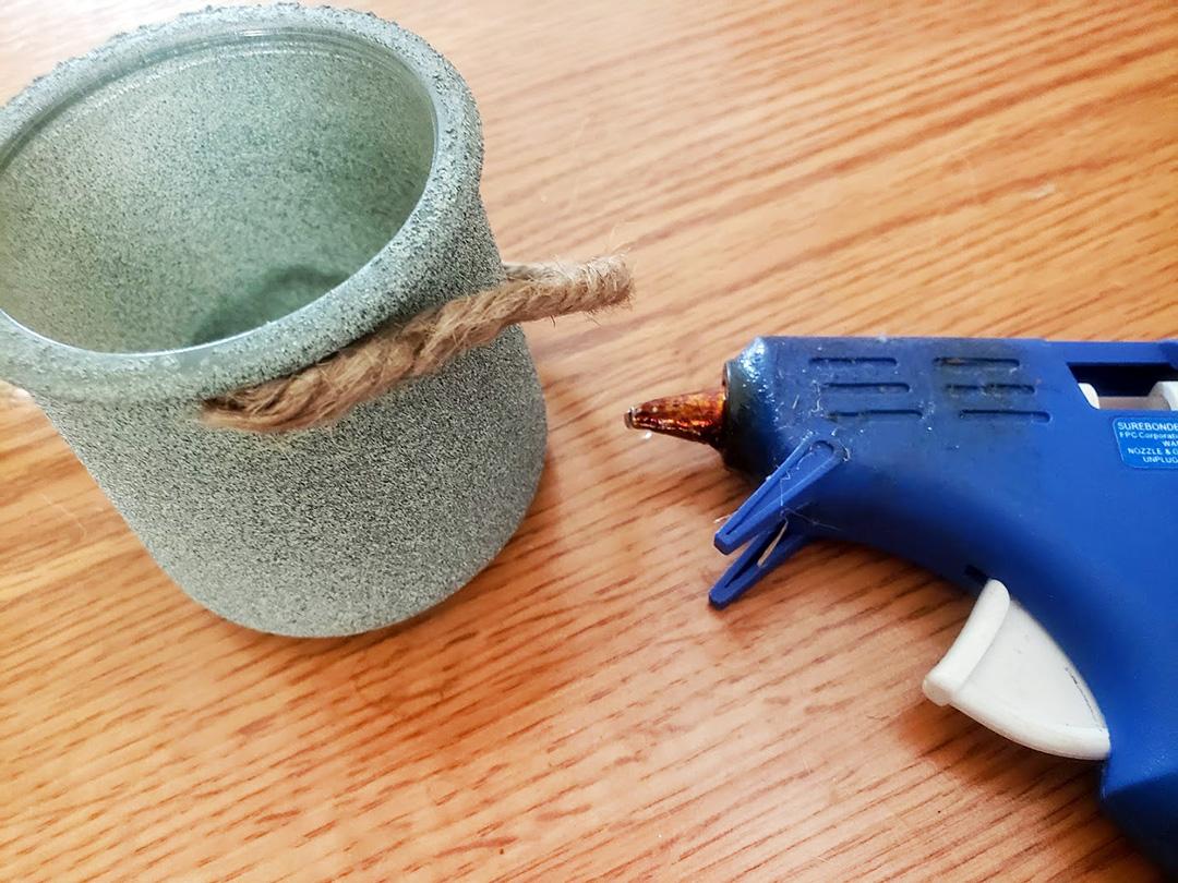 rustic planter oui jar crafts