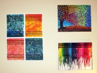 DIY Abstract Wall Art | Make Something Mondays!