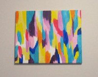 DIY Spring-Inspired Abstract Wall Art | Make Something ...
