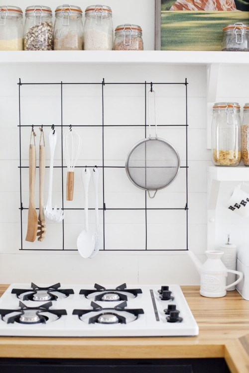 small resolution of hang anything with a loop on a diy wire rack