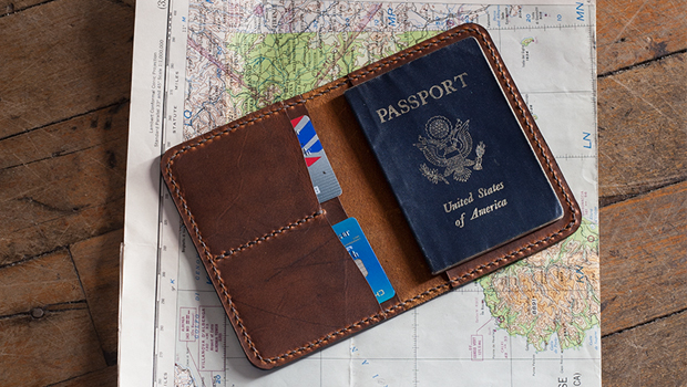 Leather Passport Cover Template  Build Along Video Tutorial  MAKESUPPLY