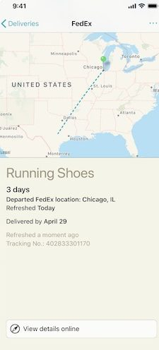 Fedex Live Map Tracking : fedex, tracking, Track, Package, Delivery, Smartphone, Easier