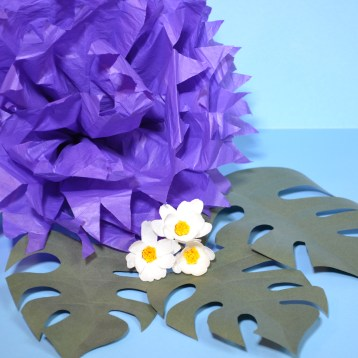 paper flower making flowers