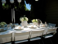 All White Baby Shower | an affair to remember