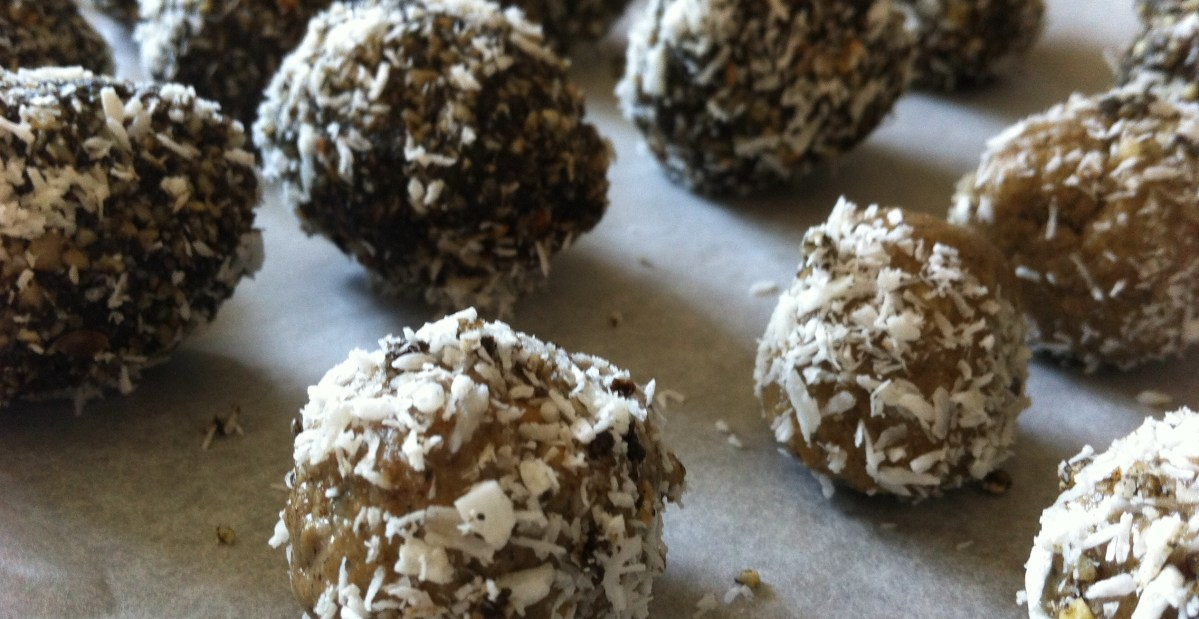 Helen's Chocolate Bliss Balls