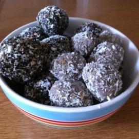Helen's Chocolate Bliss Balls