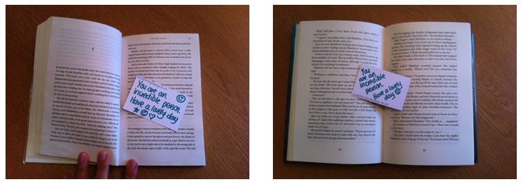 Day 26: Kindness bookmarks