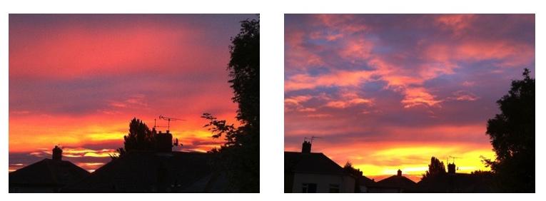 Day 25: Sunrise splendour