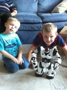 Callum's robot