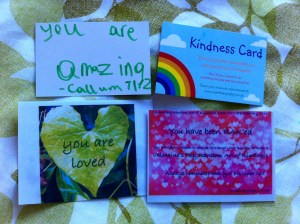 Valentine Kindness messages