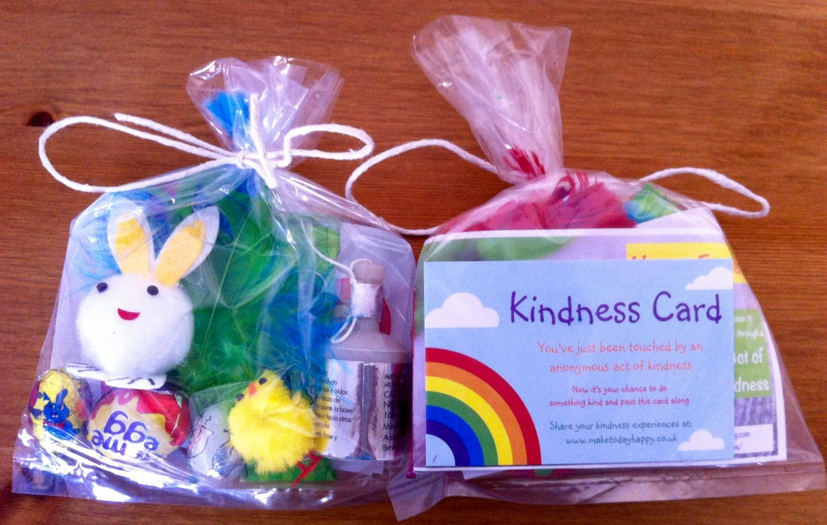 Act of kindness #7: Easter Goodie Bags
